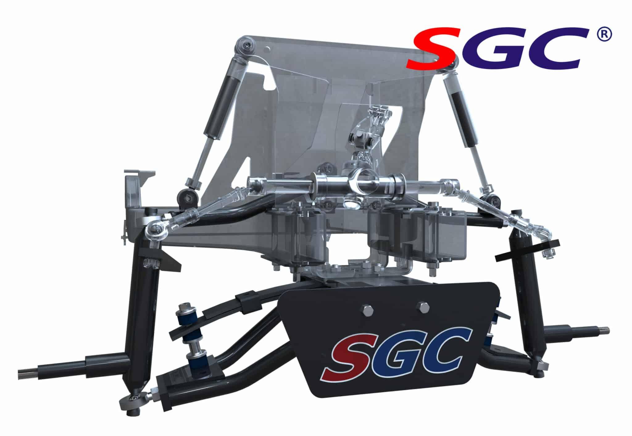 "club car precedent 6"" heavy duty a-arm suspension lift kit_副本"