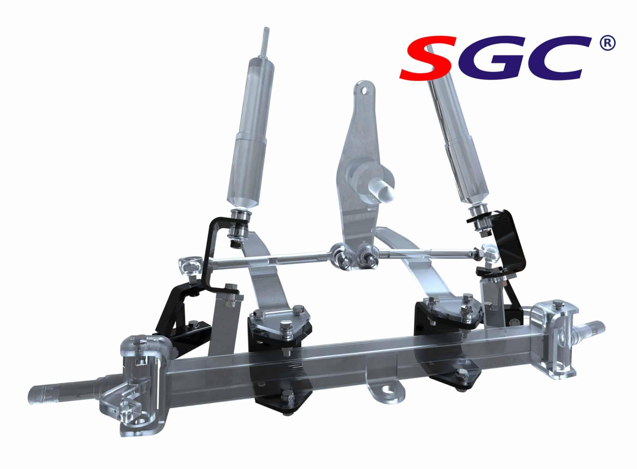 ezgo gas txt 1994-2001.5 4'' block lift kit_副本